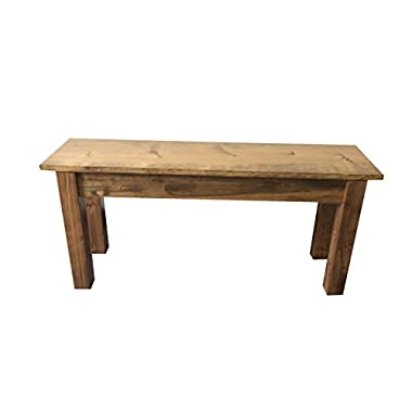 Ezekiel & Stearns Lancaster Farmhouse Bench (42 )