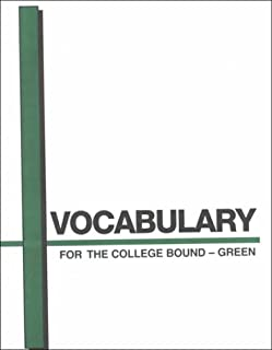 Vocabulary for the College Bound-Green