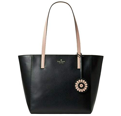 Kate Spade New York Rosa Medium Leather Tote, Black