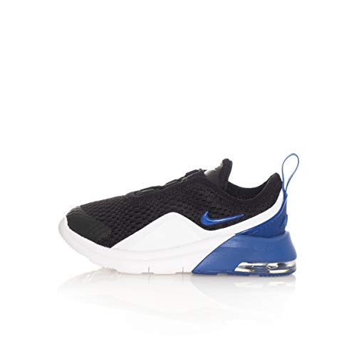 Nike Unisex Kinder Air Max Motion 2 (TDE) Niedrige Hausschuhe, Mehrfarbig (Black/Game Royal/White 003), 19.5 EU