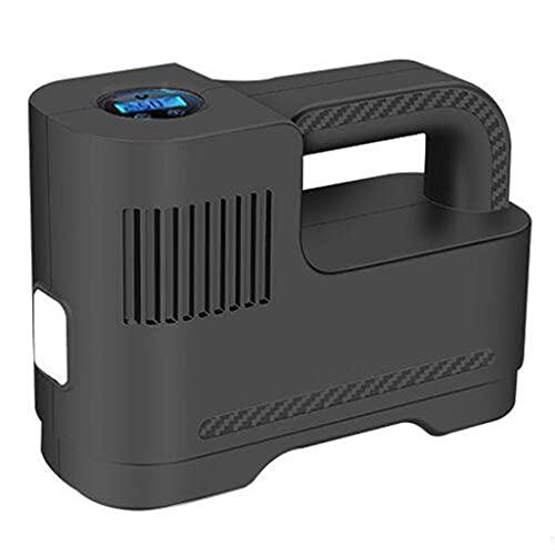 Bomba Infladora De Neumáticos Digital con Pantalla Compresor De Aire Portátil Inflador De Neumáticos con Luz LED para Bicicletas De Automóvil Y Otros Inflables para compresores de Aire