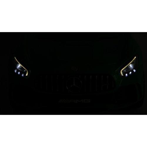 RC Auto kaufen Kinderauto Bild 5: Mercedes-Benz GT-R GTR SoftStart Kinderauto Kinderfahrzeug Kinder Elektroauto (schwarz)*
