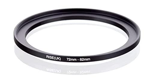 Step Up 72-82 mm Anillo adaptador 72 mm 82 mm adaptador anillo 72 mm 82 mm 72-82 72 82 mm lente lente compatible con Nikon Canon Fujifilm Leica Sony Olympus Panasonic Sigma TAMRON TOKINA