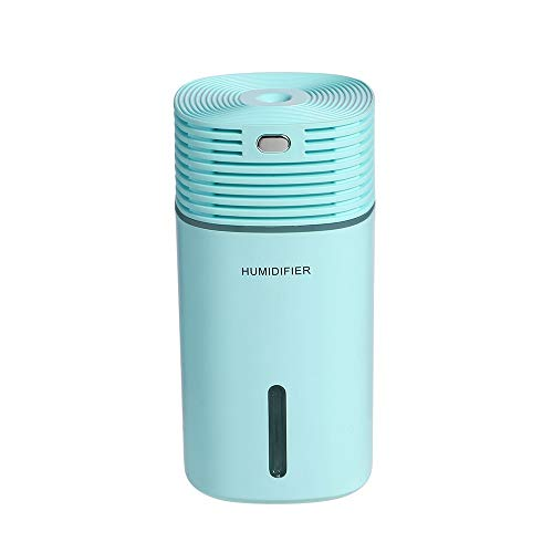 Humidificador Humidificador de aire portátil 255ML Lámpara de color de hallow ultrasónica de 255 ml CUBE HUMIDIFÍFICADOR OFICINA DE OFICINA DE OFICINA DE DORMUDO USB AROMA DIFUSOR DE MISTA MISTA Humid