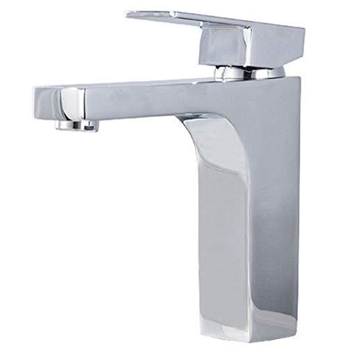 (agua) grifo; grifo; Bibcock todo cobre caliente y frío grifo del lavabo cuarto de baño cuadrado encima del lavabo grifo del hogar salida de agua suave a prueba de salpicaduras