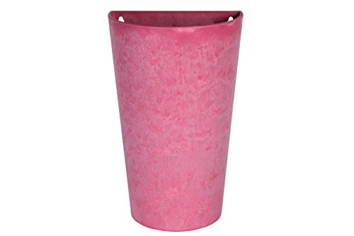 Artstone Claire wandpot 30x18x48 cm roze