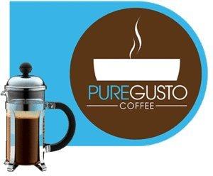 PUREGUSTO Handtekening - Grote Smaak Award - Cafetiere Koffie Sachets X 100