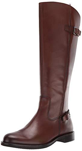 ECCO Women's Sartorelle 25 Tall Buckle Knee High Boot, Bison, 42 M EU (11-11.5 US)