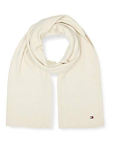 Tommy Hilfiger Damen Essential Knit Scarf Winter-Zubehör-Set, Creme , OS
