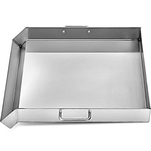 """KITGARN 36""""x22"""" Stainless Steel Griddle Flat Top Grill Tripple Burner Stove Griddle Flat Top Plate for Outdoor Triple Burner Stove"""