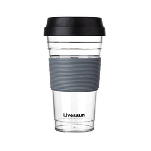 Tritan Waterfles Drop Resistance Sap Ketel Koffiebeker Plastic Eenvoudige 480ml