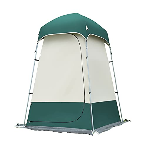 Tienda de Campaña Tent - Portable Pop Up Tiendas Instantáneas, Carpas Vestidor Vestuario Espacioso para Camping Playa Bosques Zonas de Aseo Carpas con Bolsa de Transporte.Brownnull.Dark greennull