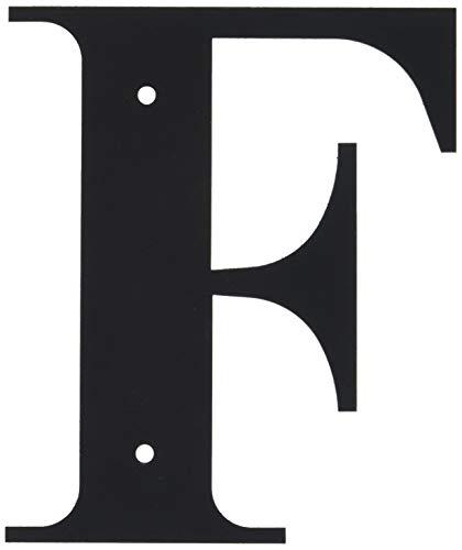 Lettre F de 15,2 cm, Petite Taille.