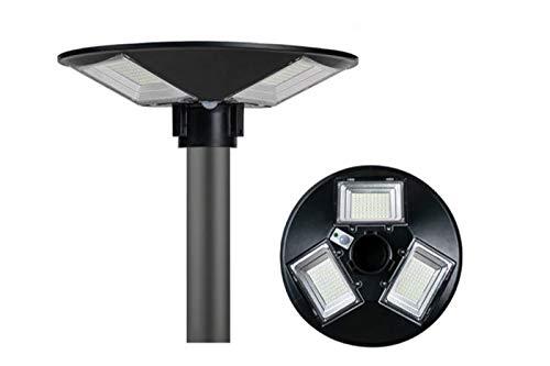 Faro led lampione stradale UFO 150w luce fredda pannello solare telecomando SJ