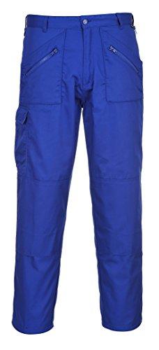Portwest werkbroek met kniezakken, zwart, beenlengte 84 cm Size 30W x 33L Navy Blauw