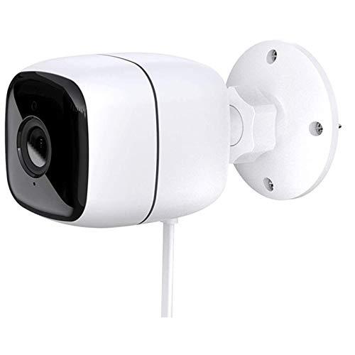 HLSH Cámara WiFi, Cámara IP Inalámbrica Tuya Smart 1080P, Visión Nocturna por Infrarrojos, Detección De Movimiento, Vigilancia De Seguridad Impermeable Al Aire Libre
