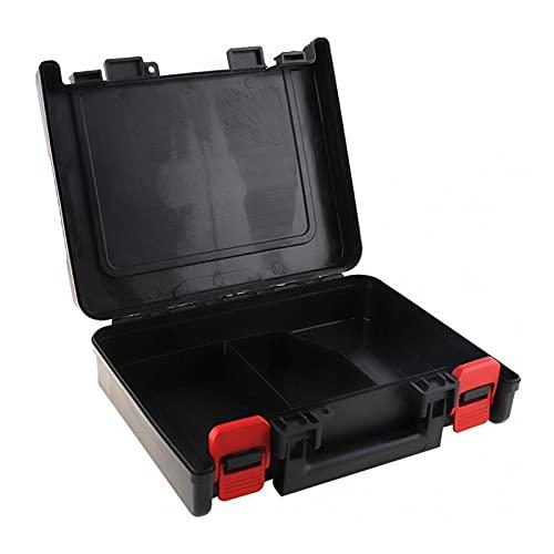 Kfdzsw Caja Herramienta 1 2V 16.8 V 21V Caja de Almacenamiento de Caja de Herramientas Universal con 320 mm de Longitud para Taladro de Litio Destornillador eléctrico (Farbe : Black)