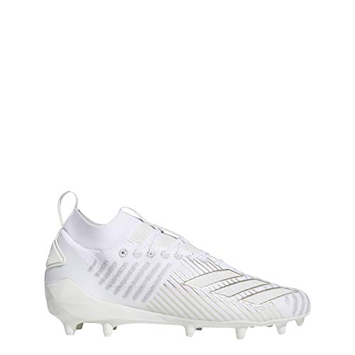 adidas Adizero 8.0 Primeknit Cleats Men's, White, Size 10
