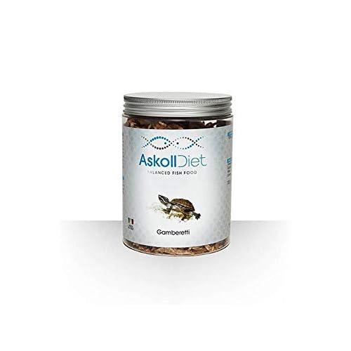 Askoll 280524 Diet Mangime per Tartarughe Acquatiche Gamberetti, L