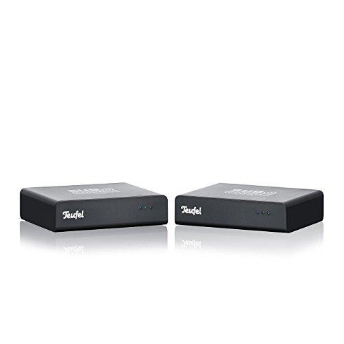 Teufel Subwoofer Wireless Set - Set aus Wireless Transmitter und Receiver zur kabellosen Übertragung des Subwoffers
