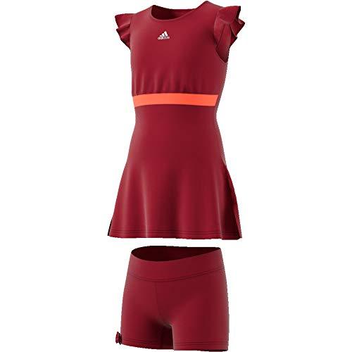adidas G Ribbon Dress Vestido, Niñas, Buruni, 164