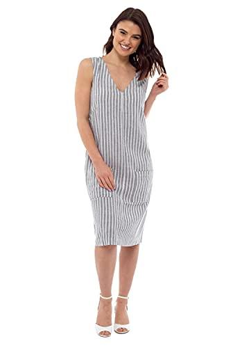 CityComfort Lniana sukienka, letnie sukienki dla kobiet, codzienne ubrania dla kobiet