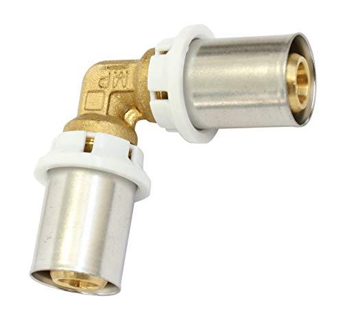 SOMATHERM FOR YOU /5710-20 5710-20-Gomito uguale piegatura collegare un tubo multistrato di diametro Ø20, None