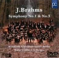 ブラームス:交響曲第1番、第3番 ブルゴス、ベルリン放送交響楽団 [DVD]
