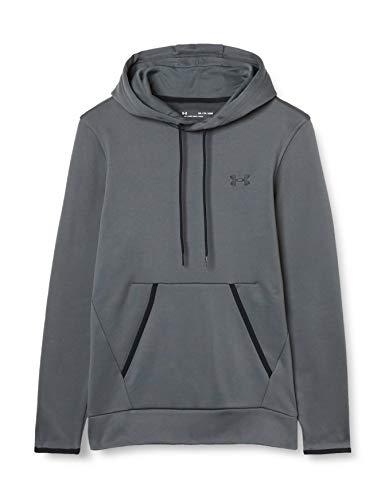 Under Armour - Camiseta de Forro Polar para Hombre, Not Applicable, Forro Polar de la Armadura., Hombre, Color Gris/Negro (012), tamaño Extra-Large