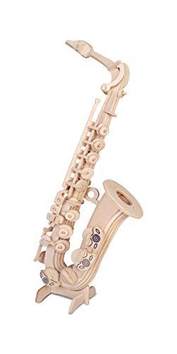 Saxofon QUAY de artesanía en madera Kit de construcción FSC
