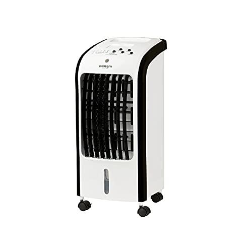 HORO Raffrescatore Portatile 80 Watt con Timer Aria Fredda Ventilatore con Funzione Umidificatore