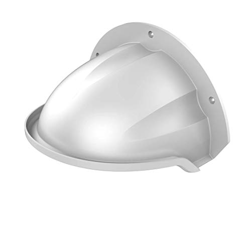 DS-1250ZJ SRS Universal Sun Rain Shade Camera Cover Shield for Hikvision/Nest/Ring/Arlo/Dome/Bullet Outdoor Camera - White