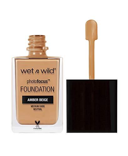 Wet 'n Wild Foundation, Amber Beige, 30ml
