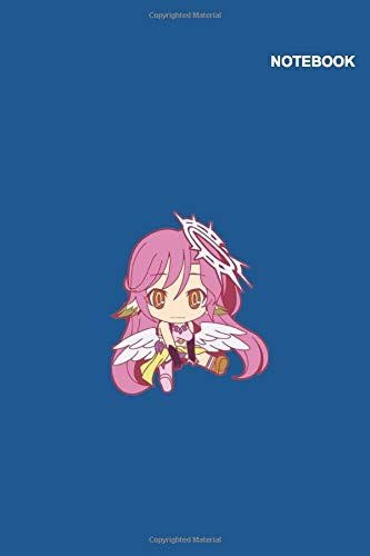 Jibril No Game No Life Notebook Cover: 6 x 9, Classic Lined pages, 110 Pages.