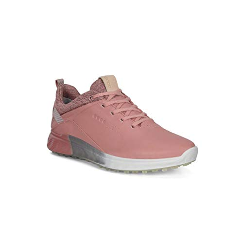 ECCO Women's S-Three Gore-tex Golf Shoe, Damask Rose, Numeric_10_Point_5