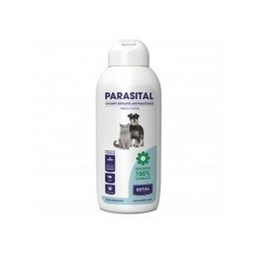 Parasital Champú Antiparasitario Perro-Gato 400 Ml de Zotal Veterinaria