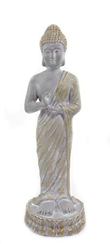DARO DEKO Buddha Figur stehend 25cm x 75cm