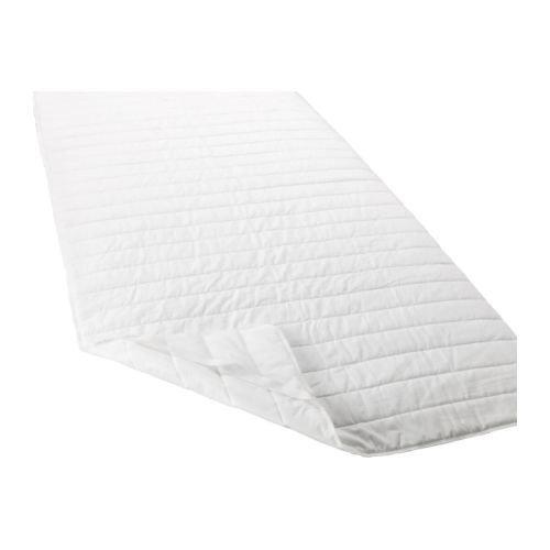 Ikea ÄNGSVIDE Matratzenschoner in weiß; (140x200cm)