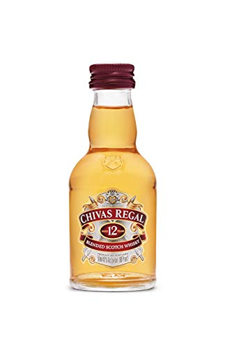 Chivas Regal 12 años Whisky Escocés de Mezcla Miniatura - 50 ml