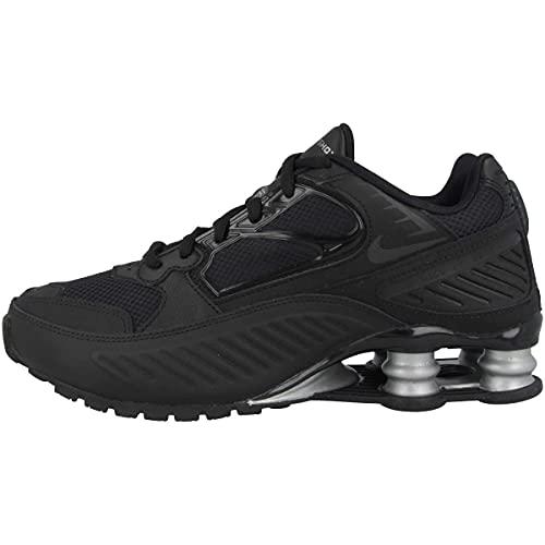 Nike - Sneaker da donna Low Shox Enigma, Nero (Black Black Metallic Silver Bq9001 004.), 38.5 EU