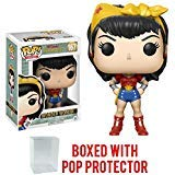 Funko Pop! Heroes: DC Bombshells - Wonder Woman Vinyl Figure (Bundled with Pop Box Protector Case)