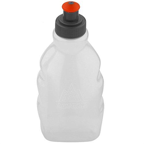 VGEBY1 Botella Deportiva Suave, Botella de Agua de La Caldera del Agua del Senderismo para El Gimnasio Que Acampa Que Ejecuta Un Ciclo Que Sube Que Sube(250ml)