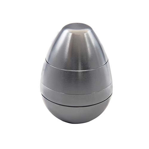 M-JJZX Molinos de Especias 58mm de Color Huevo de Cuatro Capas de Cuatro Capas de Hierba Molinillo de Humo de Metal para Hierbas secas (Color : 05)