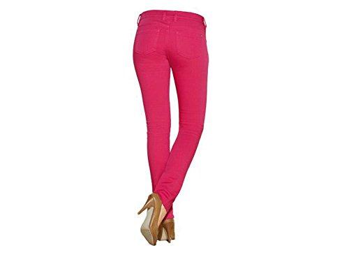 Esmara Damen Stretchhose Jeggings Hose Größe wählbar (40, Pink)