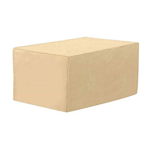 BAJIAN-LI Fundas de Muebles, Impermeable a Prueba de Viento Paño Oxford Resistente al Desgarro Cubierta de Mesa de Jardín Grandes, para Jardin Mesas Sillas Sofás Exterior