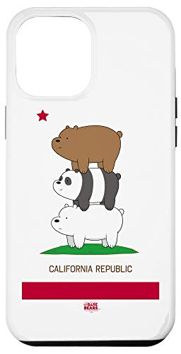 iPhone 12 Pro Max We Bare Bears Cali Stack Case
