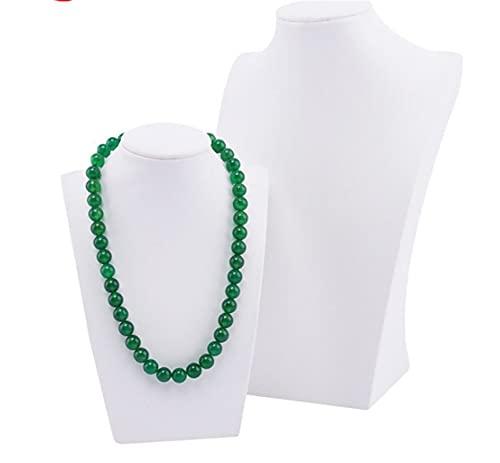 Collar de Resina Molde Maniquine Organizador Collar Collar de exhibición Soporte Soporte de Joyas Joyas de joyería Caja de la Caja Collar Rack Prop (Size : H20cm)