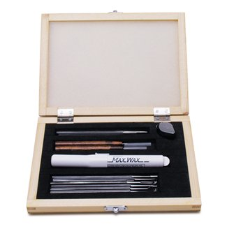 Deluxe Wax Carving Set, 13 Piece Kit | CVR-105.00