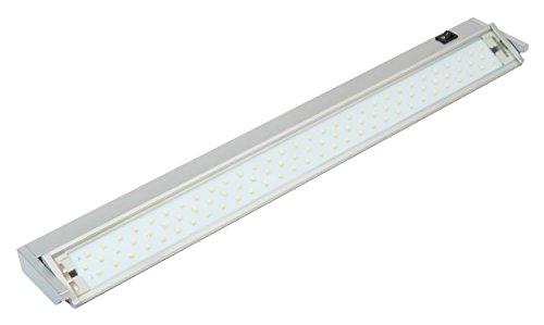 MÜLLER-LICHT LED Unterbauleuchte Salta, Aluminium, 10 W, Silber, 57.5 x 8.5 x 3.5 cm
