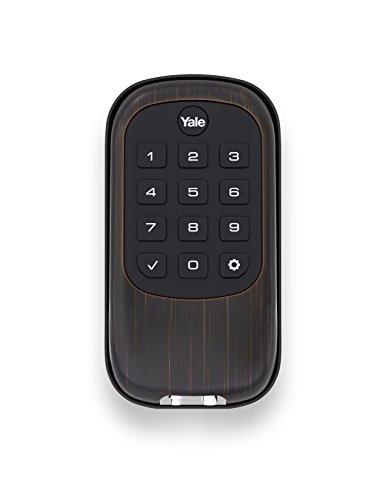 Yale Security YRD110ZW0BP Keyless Push Button Deadbolt, Oil Rubbed Bronze